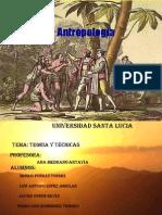 presentacion de antropologia