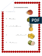 Samples of Worksheet and Activities