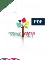 Programa CREAR - Lista 2