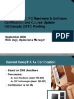 Rick ITE1 Cert Course Update