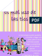 EL MAL USO DE LAS TIC'S MEJORADO