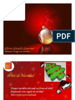 Gloria Gourmet - Navidad 2011