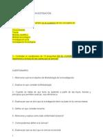 CUESTIONARIO e instrucciones