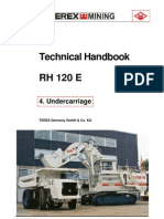 RH120E Undercarriage Technical Handbook