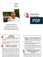 Programa Esteban Serey Concejero Fech