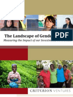 The Landscape of Gender Metrics - Measuring the Impact of Our Investments on Women
