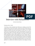 Interview With Helium.com by David Arthur Walters