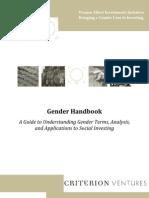 Gender Handbook