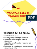 Tecnicas Para El Trabajo Grupal[1]