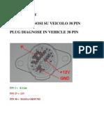 Iveco Plug Diagnose 38 Pins 12v
