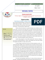PENIEL Faith Newsletter Jul Aug2011