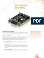 2011-Flow Simulation Electronic Cooling Datasheet 2011 ENG