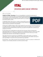 27-11-11 Dificil lograr la Reforma Laboral