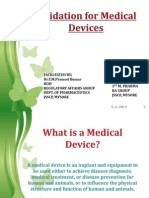 Medical Device Validation Radha