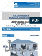 MoCAProtocols