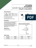 STP16NF06 Datasheet