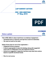 Gallup Action Plan for Apex HRD