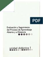 evaluación y seguimiento del aprendizaje EAD