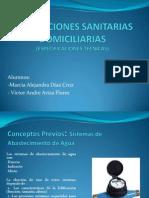 INSTALACIONES SANITARIAS DOMICILIARIAS 1