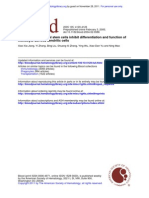 2005, Jiang - Human Mesenchymal Stem Cells Inhibit Differentiation and Function of Monocyte-Derived Dendritic Cells