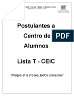 Proyecto CEIC 2012