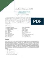 Navi Plain Dictionary