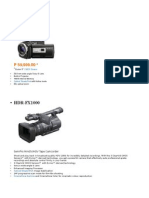 Video Cameras Specs With Pics