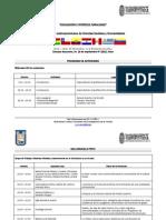 Pragrama de actividades. Educación e Interculturalidad. Red PACARINA. Arica 2011