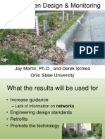 Ohio; Rain Garden Design and Monitoring - Ohio State University