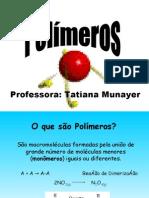 Aula Polímeros