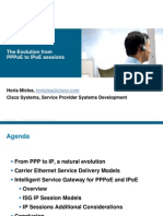 The Evolution From PPPoE to IPoE Sessions