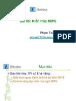 Bai05 Kien Truc MIPS