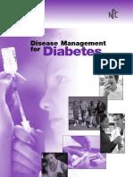 Disease Management for Diabetes