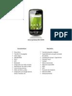 Samsung Galaxy Mini S5570 características avanzadas