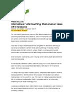 International 'Life Coaching' Phenomenon takes off in Gisborne