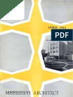 Mississippi Architect, April 1964