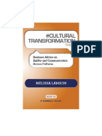 #CULTURAL TRANSFORMATION tweet Book01