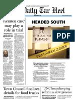The Daily Tar Heel for November 29, 2011