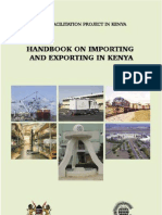 Handbook Importing Exporting