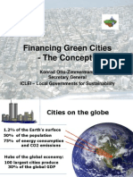 Financing Green Cities - the Concept