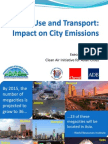 Land Use and Transports