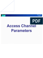 CDMA Access Channel Parameters