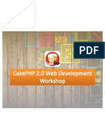 DnA Fest CakePHP Web Development Workshop