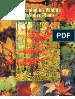 North Carolina; Landscaping for Wildlife with Native Plants - North Carolina State University
