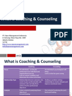 What is Coaching & Counseling