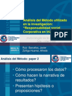 3 - XL - Análisis del Método utilizado en la investigación paper 2