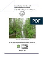 Missouri; Stream Corridor Protection and Adaptive Management Manual - City of Independence