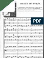 Bach Para Dos Manos Tapping (Cont.)