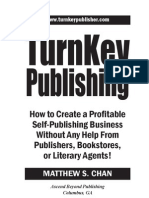 TurnKey Publishing (Table of Contents, Introduction, Chapter 1)