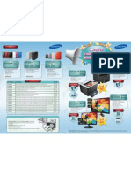 Samsung Printer & Hard Disk Drives Promotion Sim Lim Square Discounted Pricing Brochure